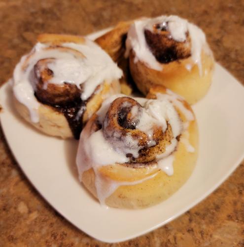 Grandma's Homemade Cinnamon Buns Recipe