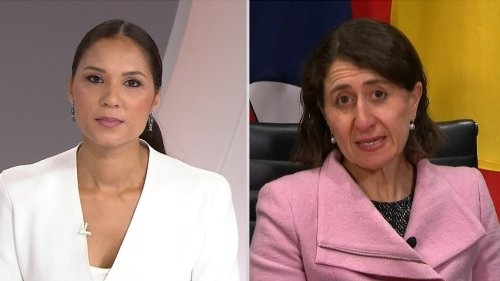 Gladys Berejiklian defends Brad Hazzard over comment on lawbreakers from 'other backgrounds'