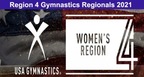 Region 4 Gymnastics Regionals 2021 - Information Here!