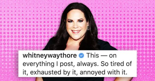 As A Fellow Fat Girl, I Love Whitney Way Thore's Response To Folks Commenting On Her Weight
