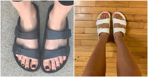 These $20 Birkenstock Dupes Are The Only Sandals You'll Want To Wear All Summer Long