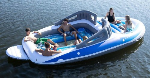 This Inflatable Speedboat (Yes, You Read That Right) Is Currently On Sale For 30% Off