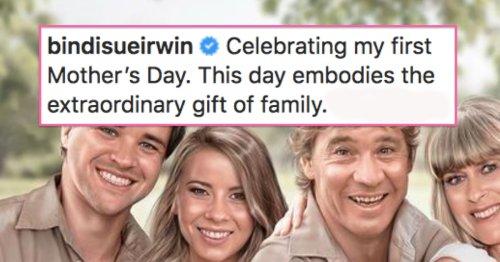 Bindi Irwin Shares Portrait That Imagines Her Dad Holding His Granddaughter