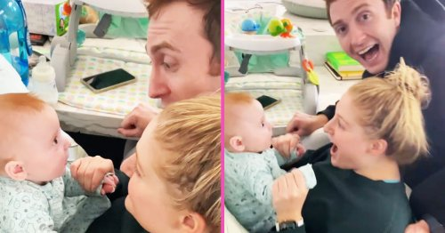 Meghan Trainor's 4-Month-Old Speaks First Words In New Video