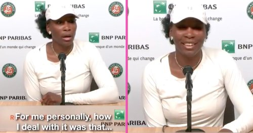 Venus Williams Drops The Mic When Asked How She Deals With Press
