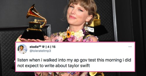 There Was Literally A Taylor Swift Question On The AP Gov Exam