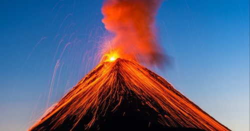 10 Truly Explosive Volcano Coloring Pages