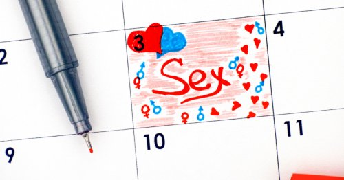 The Problem With Scheduled Sex That No One Talks About