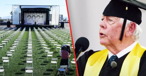 Parkland Dad Tricks NRA Pres Into 'Grad Speech' For Students Killed By Gun Violence