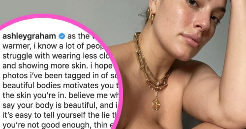Ashley Graham Reminds Us To Bare Our Bods This Summer: 'It's Hot Out There and So Are You'