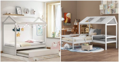 Gorgeous Kid & Toddler House Beds That Add A Little Flare To Their Space