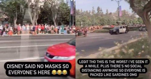 Viral TikTok Shows Bonkers Line At Disneyland On 'Reopening' Day