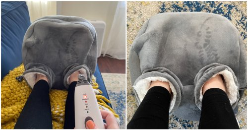 I Thought I Loved My Husband Until I Bought This Foot Warmer