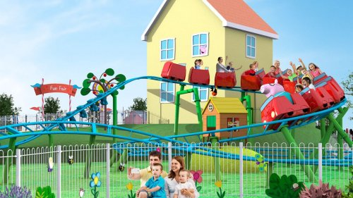 Rides, attractions revealed for Florida's Peppa Pig theme park
