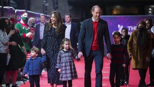 Auch Prinz Williams Kids benehmen sich zu Tisch manchmal schlecht