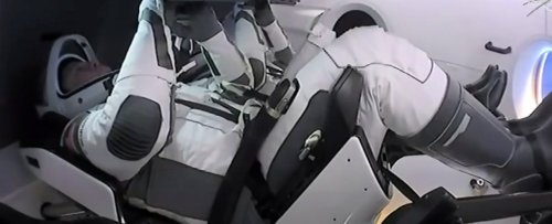 Update: 2 Astronauts Just Left The Space Station on Board SpaceX's Crew Dragon