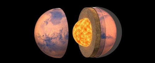 A Detailed Map of The Internal Structure of Mars Has Been Revealed For The First Time