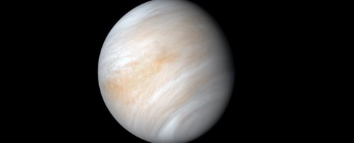 Astronomers Report That Venus' Atmosphere Contains a Building Block of Protein