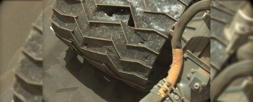 This Photo of Curiosity Is Real! Here's Why NASA Uses Zip Ties on Mars Rovers