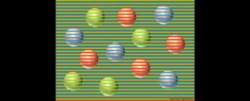 See Those Colorful Balls? Yeah, They're All Actually Beige