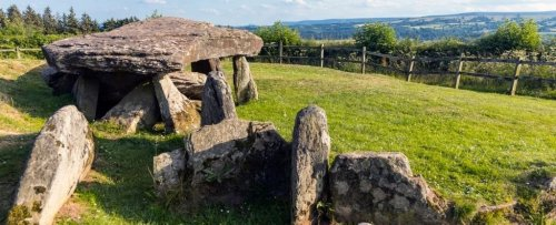 The First Excavations Near The Mysterious Arthur's Stone Have Revealed Its True Origin
