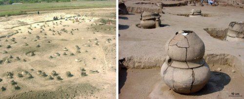 4,000-Year-Old Urn Reveals The Charred Remains of a Woman Pregnant With Twins