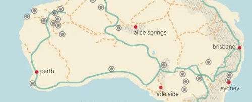 The First People in Australia May Have Followed 'Superhighways' When Arriving There