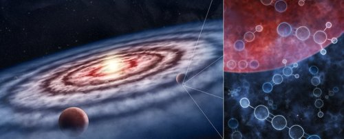 Building Blocks For Life Have Been Found Within Planet-Forming Dust Clouds