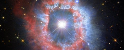 Hubble Has Captured The Startling 'Eye' of a Massive Stellar Explosion