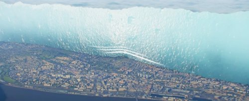 Incredible Ice Age Visualization Uncannily Resembles 'The Wall' From Game of Thrones