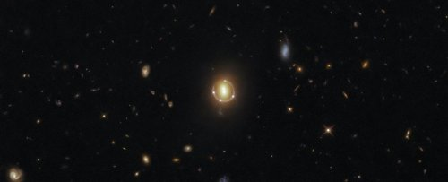 Hubble Captures a Stunning 'Einstein Ring' Magnifying The Depths of The Universe