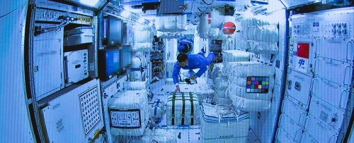 For The First Time, Astronauts Have Entered China's Orbiting Space Station