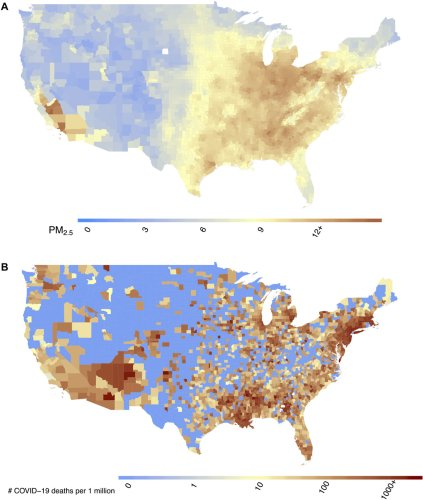 Air pollution and COVID-19 mortality in the United States: Strengths and limitations of an ecological regression analysis