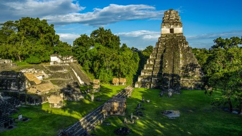 The Maya built the Western Hemisphere's first water filtration system