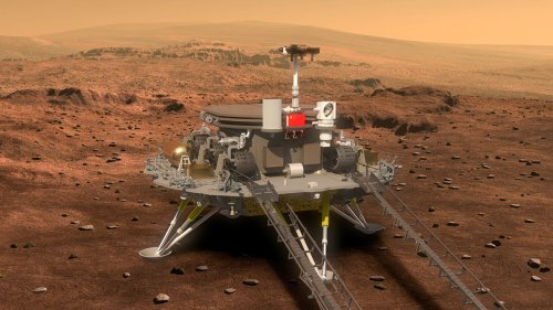 Mars mission would put China among space leaders