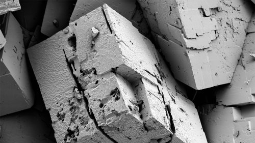 From rocks to icebergs, the natural world tends to break into cubes