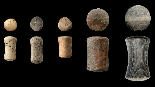 These ancient weights helped create Europe's first free market more than 3000 years ago