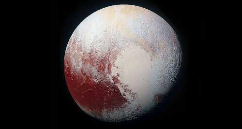 Year in review: Pluto unveiled as a world like no other