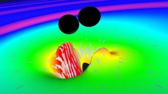Gravitational waves confirm a black hole law predicted by Stephen Hawking