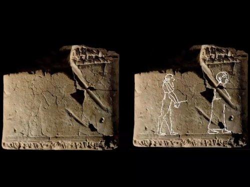 On a retrouvé le dessin de fantôme le plus ancien au monde - Sciences et Avenir