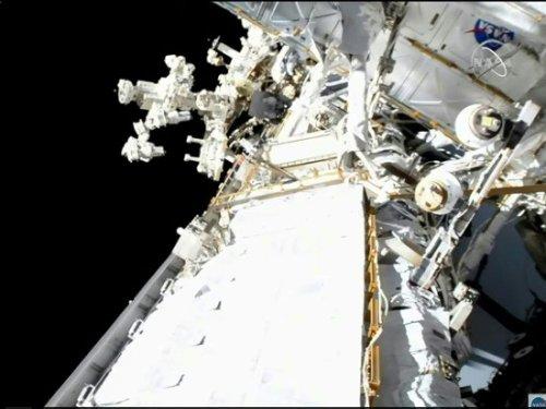 Thomas Pesquet de nouveau de sortie dans l'espace