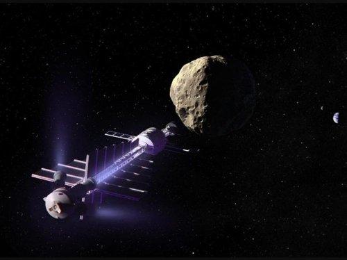 Comment dévier un astéroïde avec un tracteur gravitationnel - Sciences et Avenir