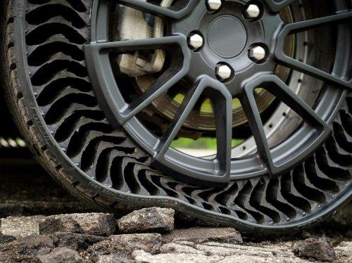 Uptis le pneu sans air de Michelin a roulé à Munich - Sciences et Avenir