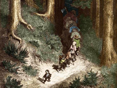 La forêt, un inquiétant royaume du merveilleux