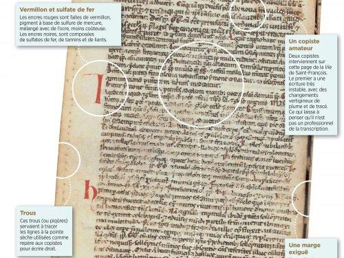 L'étude incroyable d'un manuscrit franciscain - Sciences et Avenir