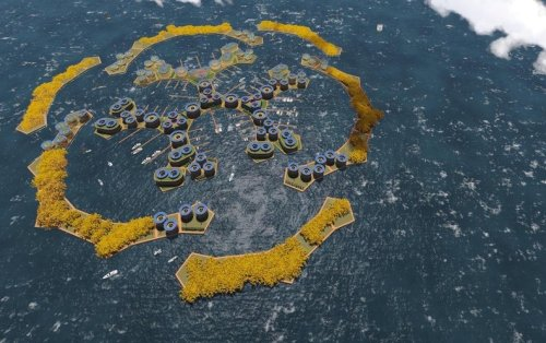 Could Floating Cities Be a Haven as Coastlines Submerge?