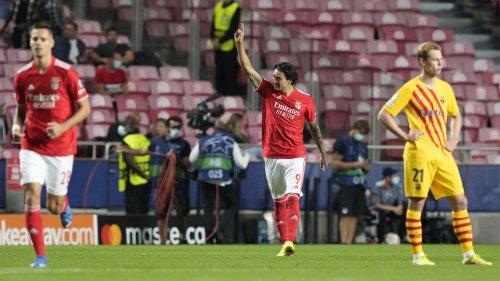 CHAMPIONS LEAGUE: BENFICA 3- 0 BARCELONA - ScoreMore Sports