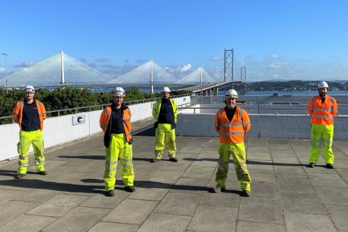 Engineers set for unique Forth Road Bridge challenge to bring ultrafast internet to South Queensferry
