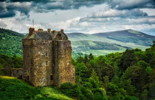 Sleep in the same bedroom as Mary, Queen of Scots in a stunning haunted medieval castle