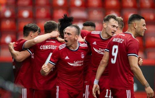 Chants of Broonie as Aberdeen thrash BK Hacken on memorable night for Dons